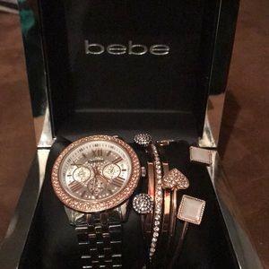 Brand New Bebe Watch Set